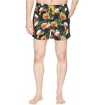 Threadfin Swim Trunk Open Green