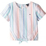 Oxford Stripe Top (Big Kids)