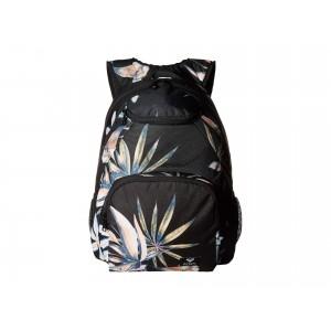Shadow Swell Backpack True Black Delicate Flowers