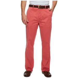 Classic Fit Stretch Newport Pants Nantucket Red