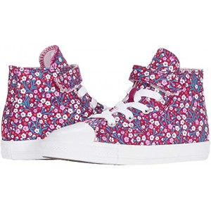 Converse Kids Chuck Taylor All Star 1V Floral (Infantu002FToddler) Rose Maroon/Cherry Blossom