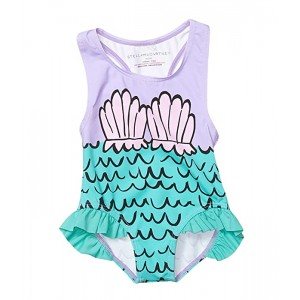 Stella McCartney Kids Mermaid Shells Swimsuit (Infant) Multi