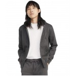 Plains Hoodie Zip-Up Sweatshirt Charcoal Grey Heather