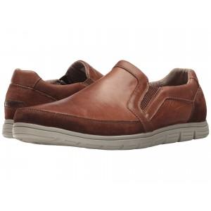 Bowman Double Gore Slip-On Boston Tan Leather