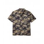 Pendleton Short Sleeve Aloha Shirt Navy Tropical Print