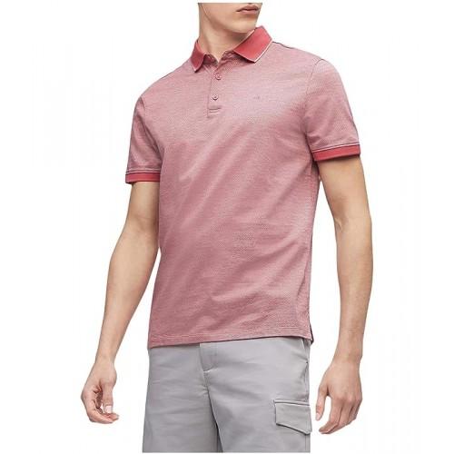 켈빈클라인 Short Sleeve Liquid Touch Polo Shirt