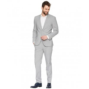 Stretch Slim Fit Performance 32 Finished Bottom Suit Grey