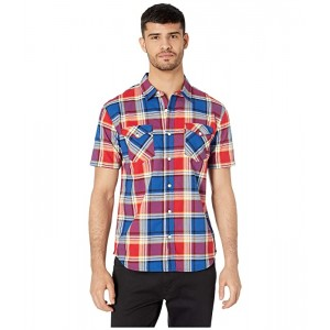 Levis Beered Short Sleeve Woven Shirt Lychee