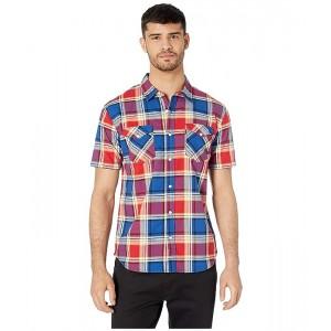 Beered Short Sleeve Woven Shirt