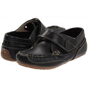 Chase (Toddler/Little Kid) Black Leather