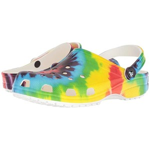Classic Tie-Dye Graphic Clog