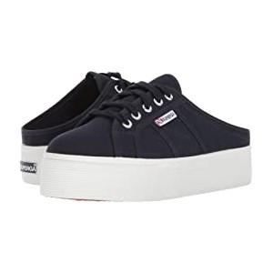 2284 Vcotw Platform Sneaker Mule Navy