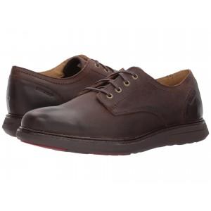 Smyth Plain Toe Dark Brown Leather