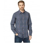 Boulder Ridge Long Sleeve Shirt Canyon Gold Large Plaid