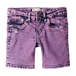 Denim Midi Shorts (Big Kids)