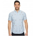Oxford Short Sleeve Sport Shirt American Stag