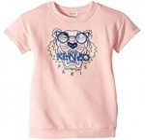 Tiger Fleece Babydoll Dress (Toddler/Little Kids)