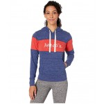 NSW Gym Vintage Hoodie Stripe Blue Void/Heather/University Red/Sail