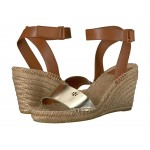 Bima 2 90mm Wedge Espadrille Gold/Perfect Cuoio