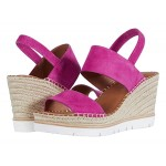 Gentle Souls by Kenneth Cole Elyssa Two Band Fuchsia Suede