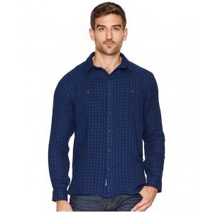 Double Face Sports Shirt Dark Indigo/Fed Blue
