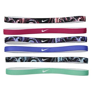 Printed Headbands Assorted 6-Pack
