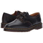 1461 Ghillie Shoe Black Vintage Smooth