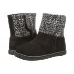 Nepal Boot (Infant/Toddler/Little Kid) Black Suede/Metallic Wool