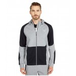 PUMA Evostripe Full Zip Hoodie Medium Gray Heather