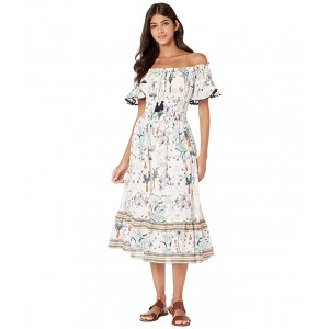 Meadow Folly Dress Cover-Up Ivory Poetry of Things
