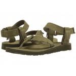 Original Sandal Leather Fringe Dark Olive
