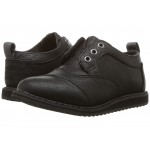 Brogue (Infant/Toddler/Little Kid) Black Synthetic Leather