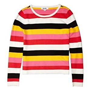 Sunset Dreams Stripe Pullover Sweater Multi Stripe