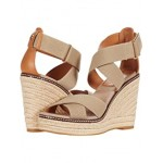 Tory Burch 100 mm Frieda Espadrille Sandal Natural