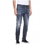 Dark I-Phone Wash Cool Guy Jeans in Blue