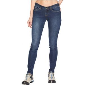 Genevieve Skinny Jeans Classic Fit Dark Wash