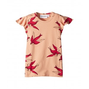 Swallows Wing T-Shirt (Infant/Toddler/Little Kids/Big Kids) Pink