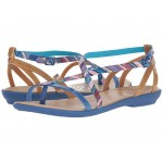 Isabella Gladiator Graphic Sandal Blue Jean/Gold