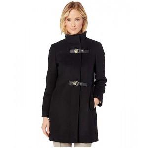 Double Buckle Wool Coat