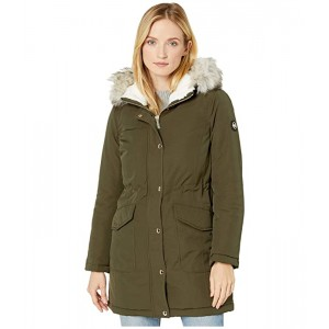 Snap Front Polyfill Anorak M424324TZ
