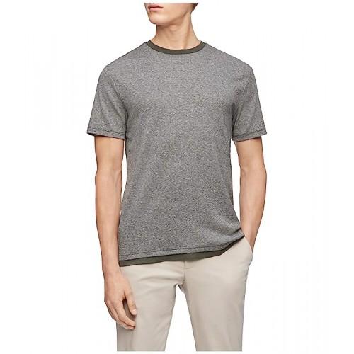 켈빈클라인 Short Sleeve Liquid Touch Dobby Casual T-Shirt