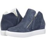 Steve Madden Caliber-F Wedge Sneaker Grey Suede