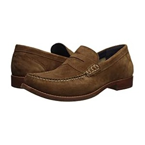 Pinch Grand Casual Penny Loafer Bourbon Suede