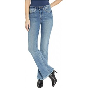 Stiletto High-Rise Bootcut Jeans in Wetherly Wetherly