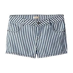 Young Hearts Shorts (Big Kids) Medium Blue La Mini Vague Stripe