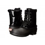 Original Patent Leather Lace-Up Shearling Lined Boot Black