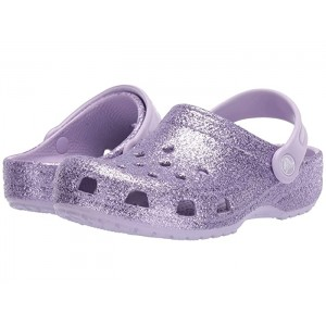 Classic Glitter Clog (Toddler/Little Kid/Big Kid) Lavender