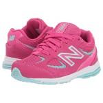 New Balance Kids IK888v2 (Infantu002FToddler) Exhuberant Pink/Bali Blue
