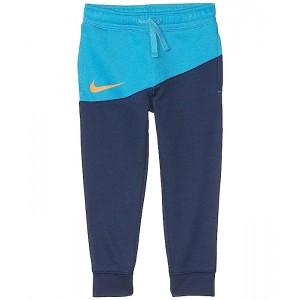 Nike Kids Sportswear Fleece Color Block Track Pants (Little Kids) University Blue