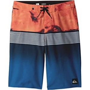Highline Lava Division Boardshorts (Big Kids) Navy Blazer